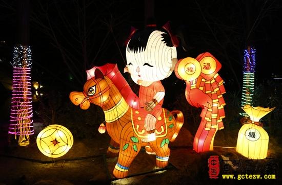 【图文】台儿庄:千门开锁万灯照古城,今年的花灯不能错过你