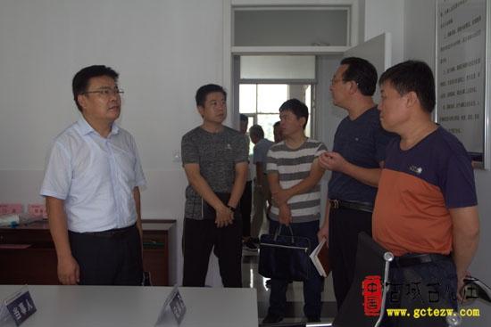 台儿庄区矛盾纠纷督导调研组到乡镇调研矛调中心建设