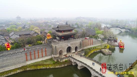【图文】雨后台儿庄古城竟然这么美,春色撩人似一幅画!